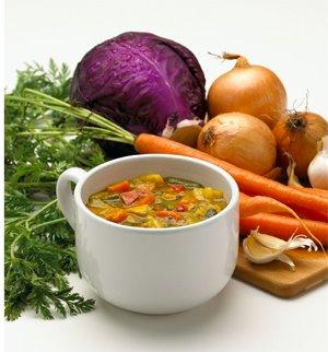 Substitua o jantar por sopa