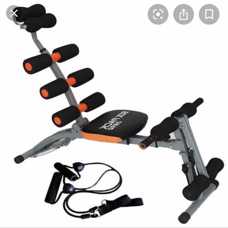 Banco de Musculação Six Pack Care 1