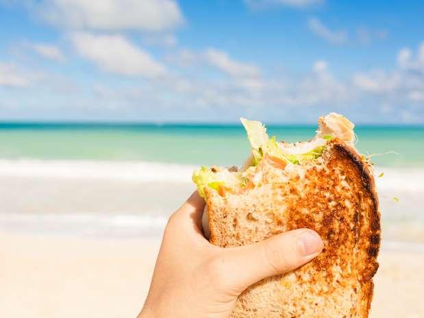 Comer na praia - refeições praticas e saudáveis 1