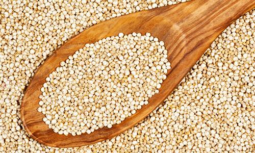 quinoa com iogurte