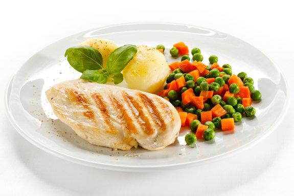 Reduza as porções alimentares