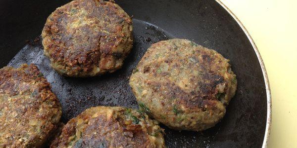 Hambúrguer de quinoa e nozes 1
