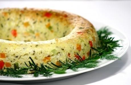 Pudim de verduras 1