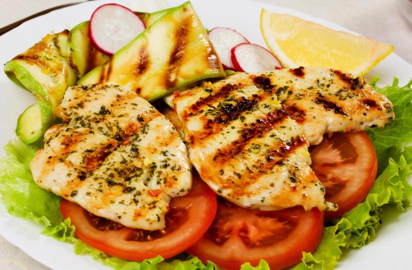 Dieta do frango com batata doce