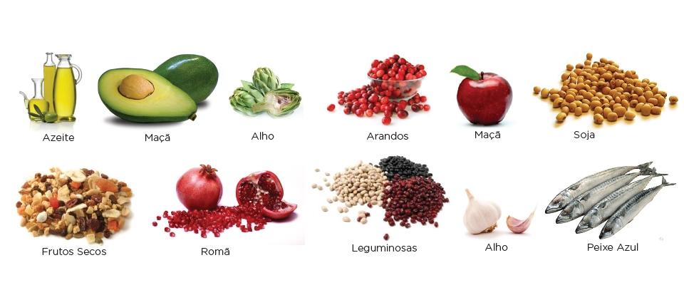 alimentação e o colesterol