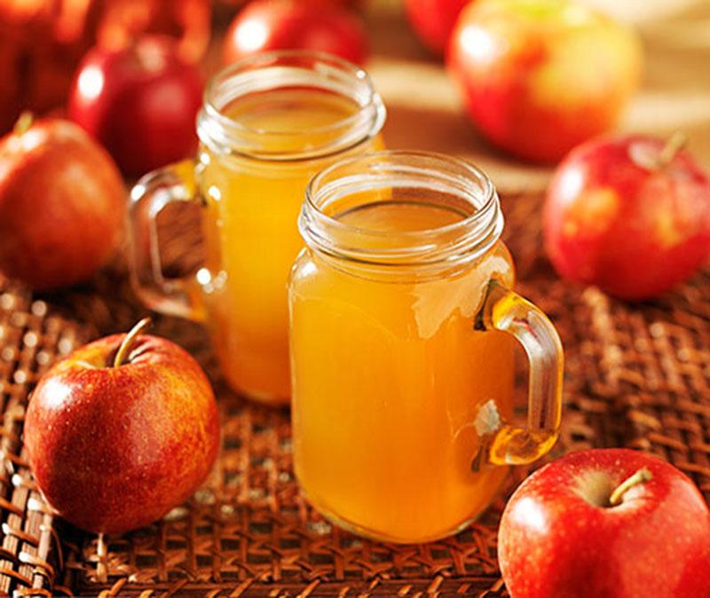Vinagre de sidra ou maçã em jejum