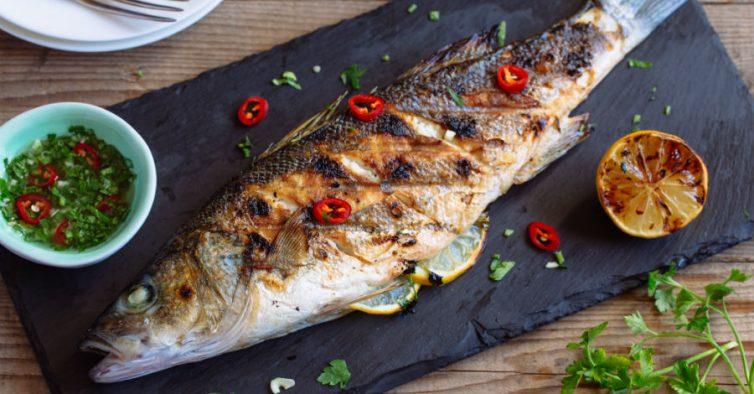 Os peixes mais saudaveis