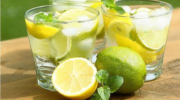 Água com Limão e Chia para perder peso