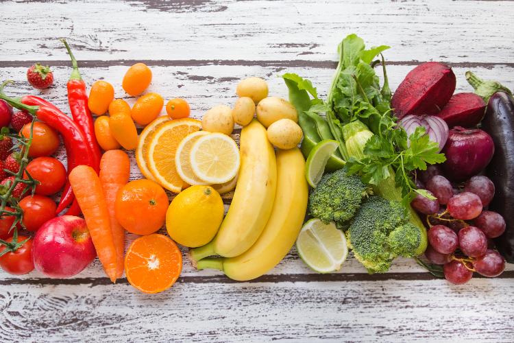 Frutas e Legumes da Época - Calendário Anual 1